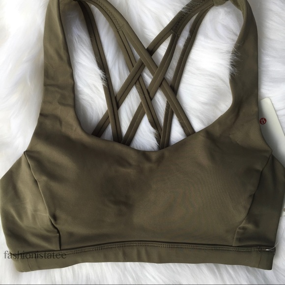 cee2811474d3e NWT SAGE GREEN LULULEMON FREE TO BE SERENE BRA. Listing Price   52. Your  Offer